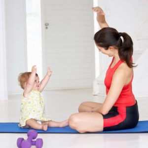 Yoga bébé et maman