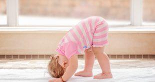 sport pour bébé yoga